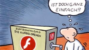 Mit Flash in die Zukunft?