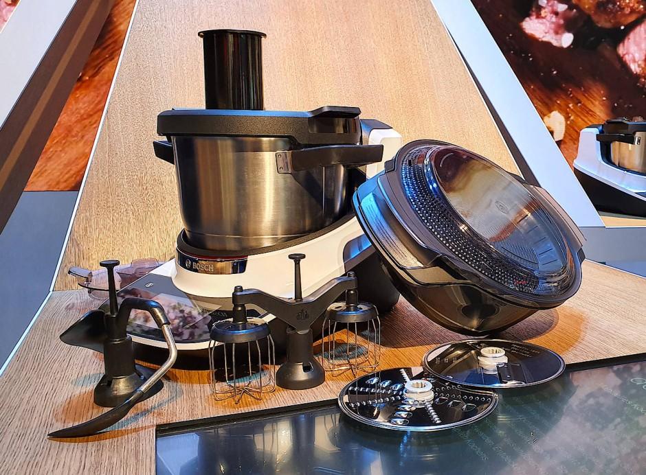Mit dem Cookit von Bosch kann man so ziemlich alles machen.