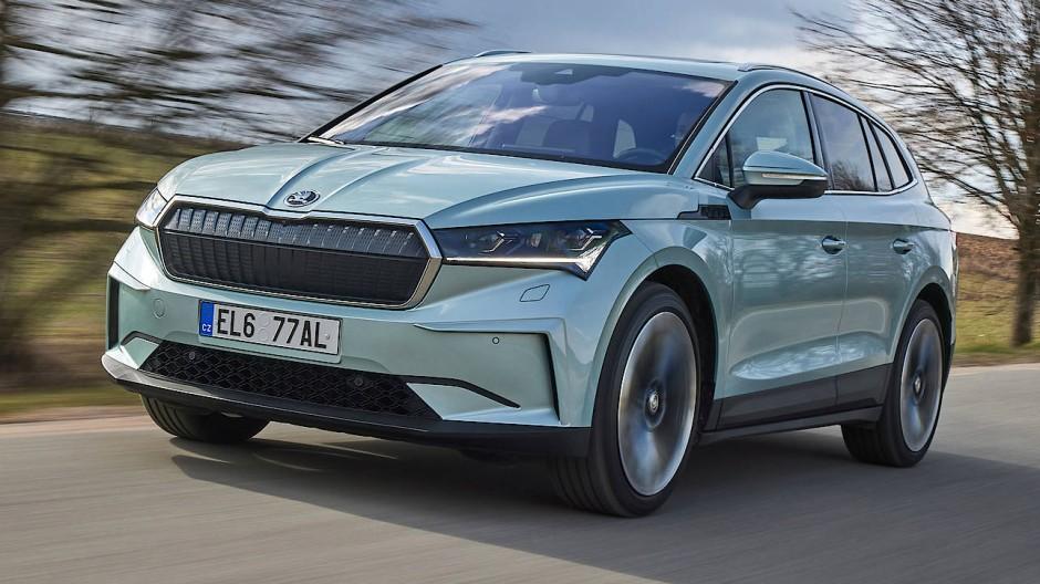 Der elektrische Škoda Enyaq