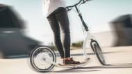 Designer-Roller des Mailänder Unternehmens Fly Kly