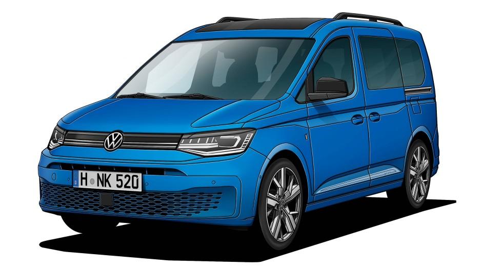 Der VW Caddy 2.0 TDI Move