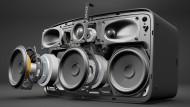 Keine Angst, der neue Play:5 von Sonos explodiert nur zur Veranschaulichung ...