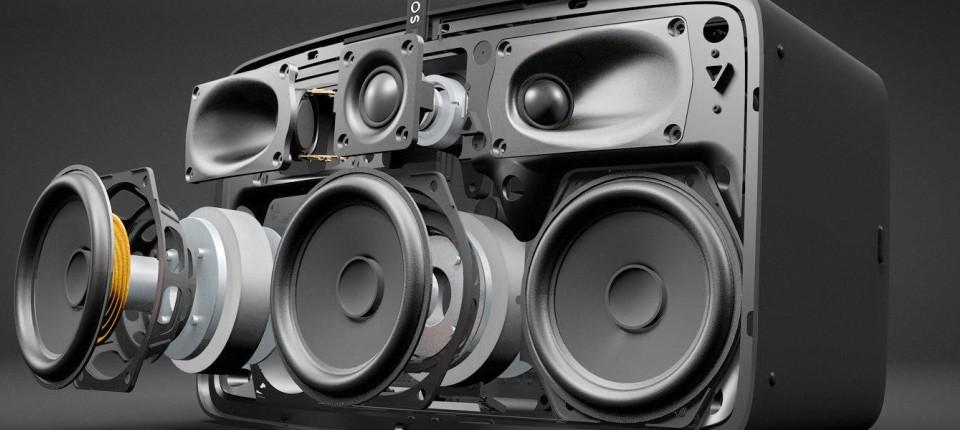 Wenn Sonos-Lautsprecher auf das iPhone hören