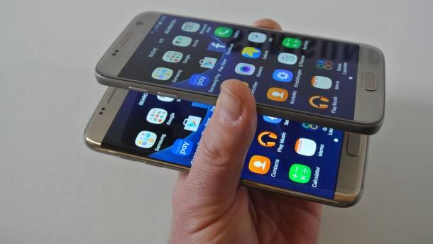 Das sind die neuen Galaxy S7 von Samsung