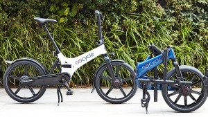 Mit dem Elektro-Faltrad unterwegs in der Stadt