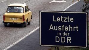 Symbol der DDR und der Wende
