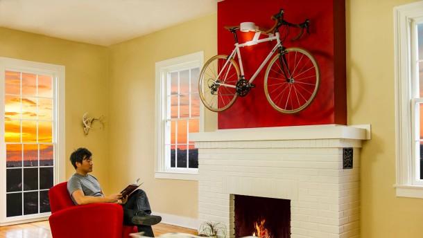 mehr als ein trend das fahrrad im wohnzimmer umwelt technik faz. Black Bedroom Furniture Sets. Home Design Ideas