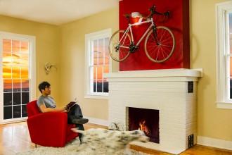 mehr als ein trend das fahrrad im wohnzimmer technik faz. Black Bedroom Furniture Sets. Home Design Ideas