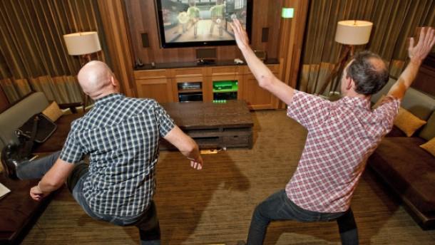 Die Xbox mit Hand und Fuß steuern
