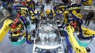 5G soll in Deutschland vor allem auch die intelligente Fabrik ermöglichen.