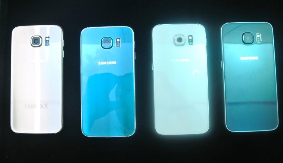 Bilderstrecke Zu Samsung Präsentiert Auf Dem Mwc Das Galaxy S6 Und