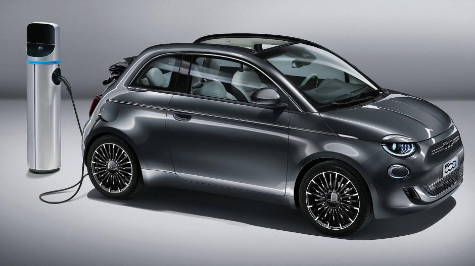 Fiat 500: Die Grundform ist geblieben.