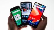 Die Drei ohne Fragezeichen: Nokia 1, Motorola G6 und Oneplus 6