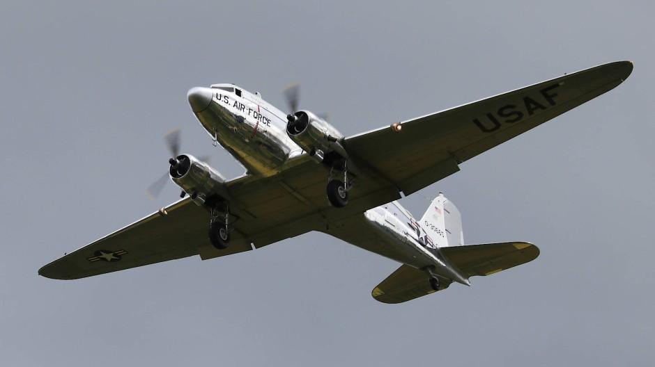 Am Pfingstmontag wurde auf der amerikanischen Airbase in Wiesbaden-Erbenheim der Luftbrücke nach Berlin vor 70 Jahren gedacht.