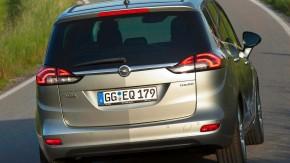 Opel Zafira Tourer hinten