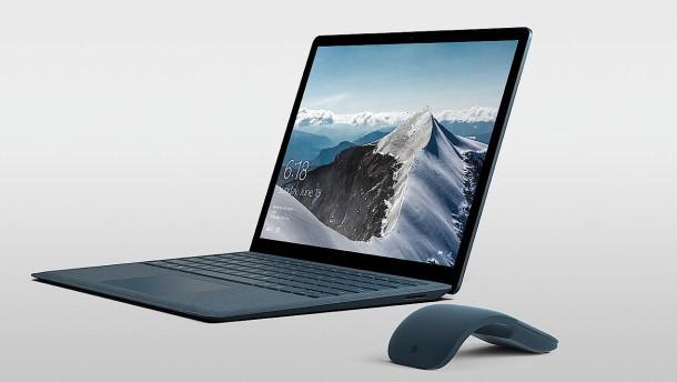 Microsoft stellt schmales Windows und Laptop vor