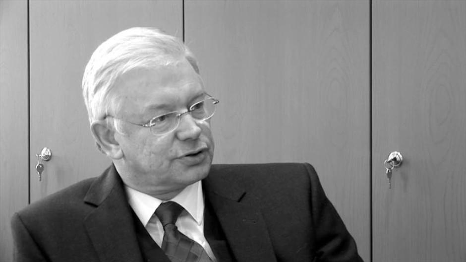 Roland Koch, Vorstandsvorsitzender von Bilfinger SE