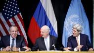 Syrien-Verhandlungen ohne Durchbruch