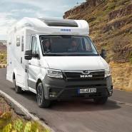 Flott auf der Straße, und dann auch noch 4 x 4: Knaus Van TI Plus