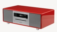 In der Hochglanzbox: Komptaktanlage Sonoro Stereo.