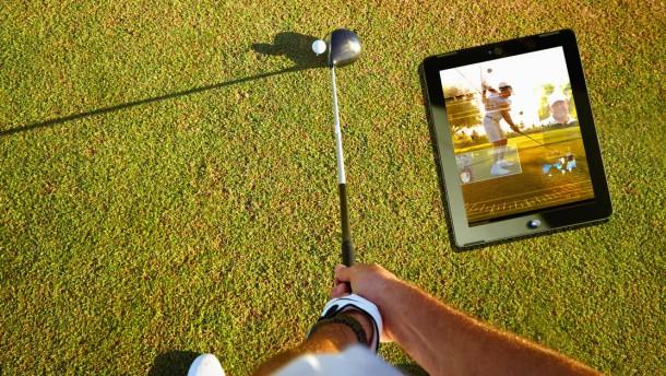 Golf Entfernungsmesser Iphone App : App für golfer besser golfen mit dem iphone digital faz