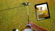 Haltungsnote: Mit der richtigen App kann der Golfer sein Spiel verbessern.