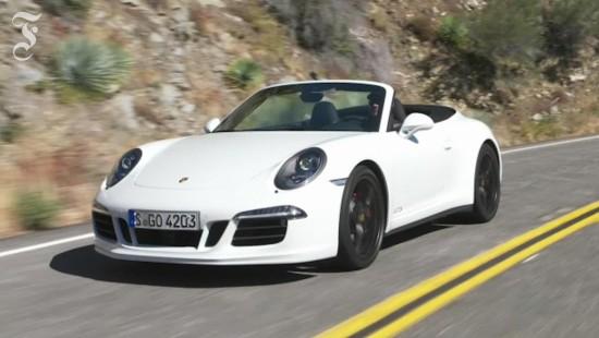 Porsche 911 Carrera GTS 4 Cabrio