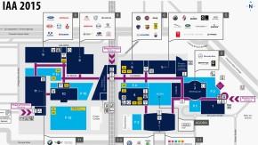 IAA 2015: Die Hallen auf der Messe
