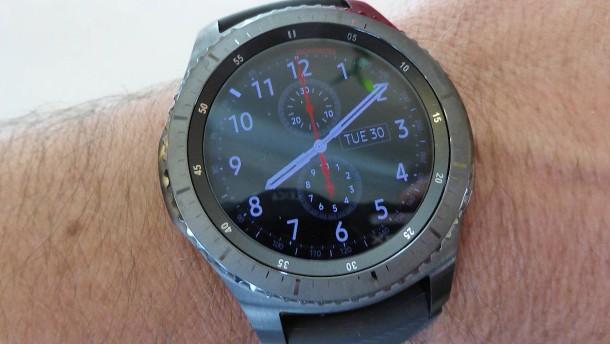 Samsung geht mit seiner Smartwatch in die dritte Runde