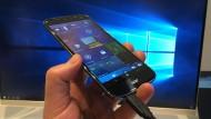 """""""Continuum"""" mit einem Windows-10-Smartphone"""