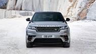 Der Range Rover Velar besitzt die flachsten Scheinwerfer, die Land Rover jemals gebaut hat.