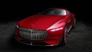 Feiert an diesem Freitag zum Auftakt des Concours d'Elegance in Pebble Beach in Kalifornien seine Premiere: der Vision Mercedes-Maybach.