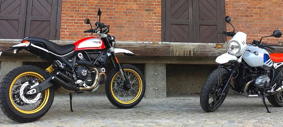 Motorrader Ducati Desert Und Bmw Urban Im Test