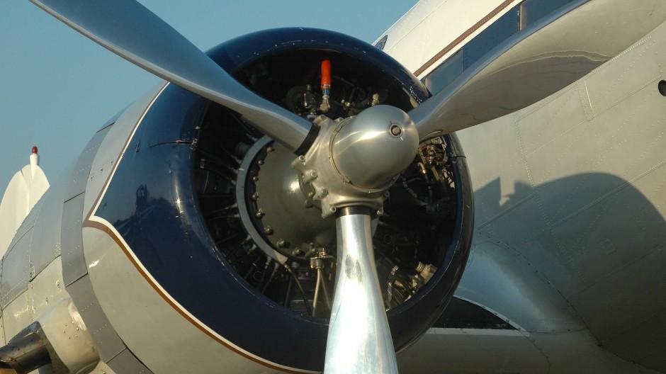 Sternmotor mit 14 Zylindern, in sieben Jahrzehnten schon 40 Mal überholt.