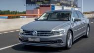 Den VW Phideon wird es nur in China geben. Man rechnet sich in China neue Chancen aus.