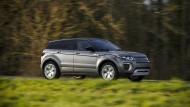 Top auf der Straße: der Range Rover Evoque