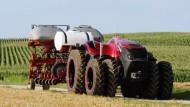 Traktoren ohne Landwirt