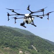 Wo das Gelände steil ist, können Drohnen eingesetzt werden, um neue Bäume auszusäen.