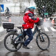 Radfahrer auf Pedelecs gelten als besonders gefährdet. Das Training auf einem Verkehrsübungsplatz wie hier in Nürtingen kann helfen.