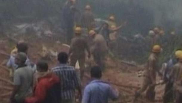 158 Tote bei Unglück in Mangalore