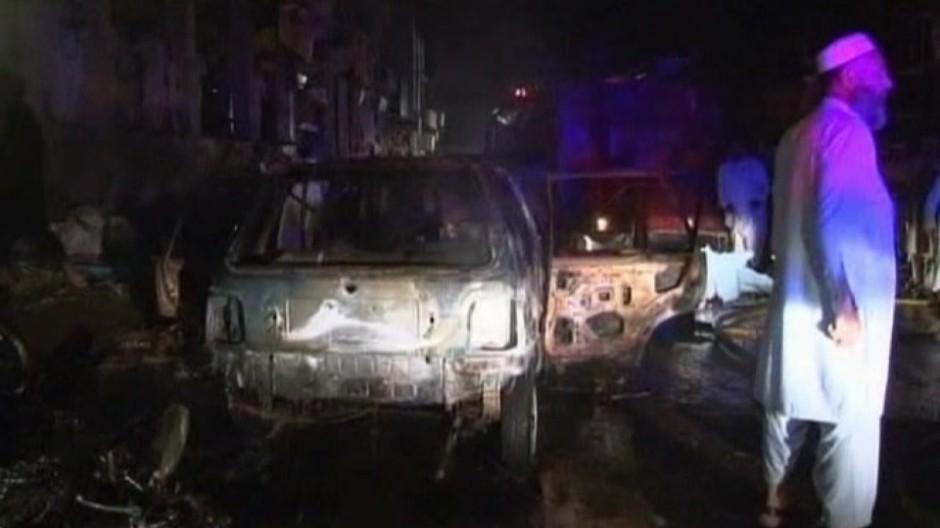 Tote bei Bombenanschlag in Peschawar