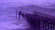 Hurrikan Irene tobt an der Ostküste