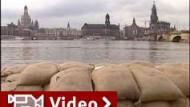 Hochwasser in Dresden leicht zurückgegangen