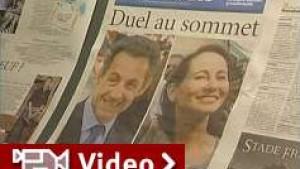 Duell zwischen Sarkozy und Royal