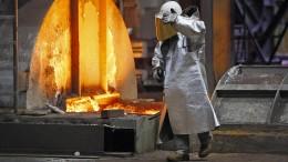Stahlkocher legen Produktion lahm