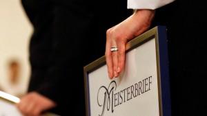 Handwerk sieht Meisterbrief bedroht