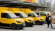 DHL arbeitet eng mit Amazon zusammen.