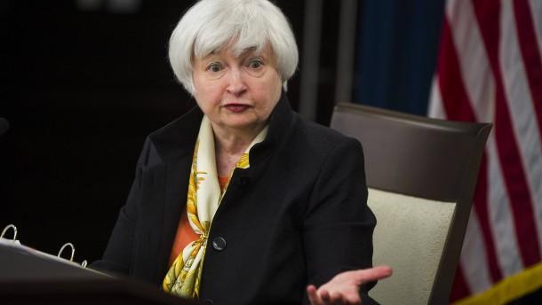 Fed-Chefin Yellen öffnet ein Türchen für Leitzinserhöhungen