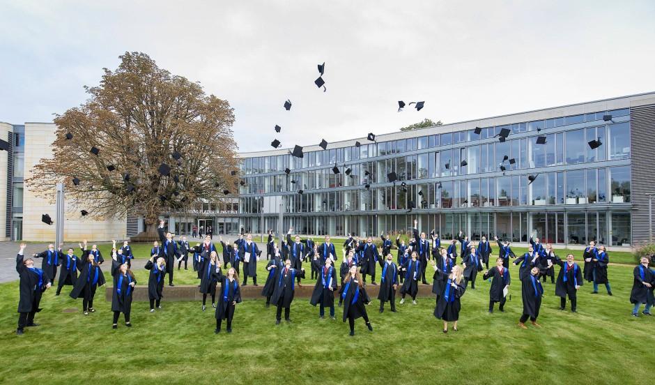 Absolventenfeier am Hasso-Plattner-Institut in Potsdam