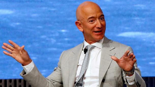 Jeff Bezos ist der mit Abstand reichste Mann der Welt